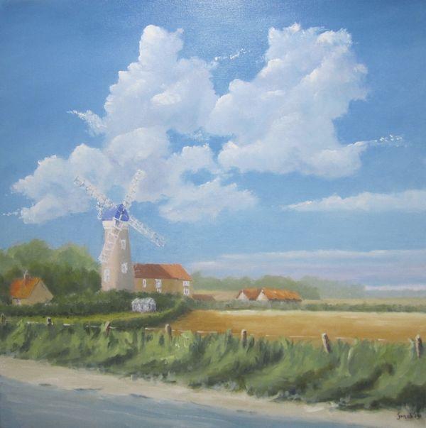 Cley Windmill in Norfolk