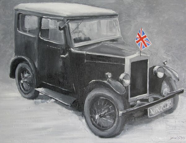 VE Day car; gifted