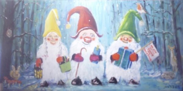 Going Gnome for Christmas; NFS