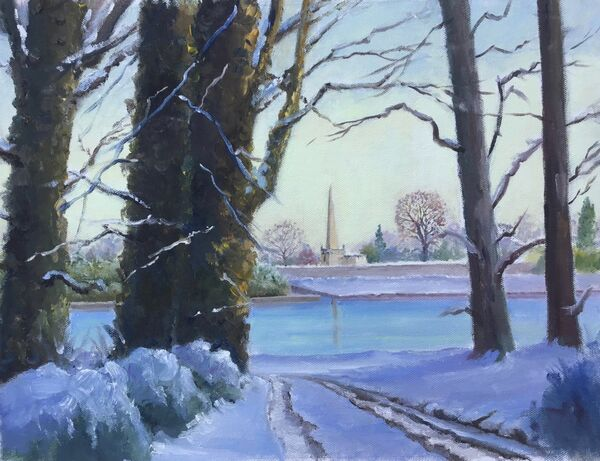 Hillsborough in the snow