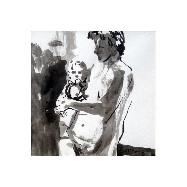 figure with child