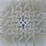 loosely woven cross