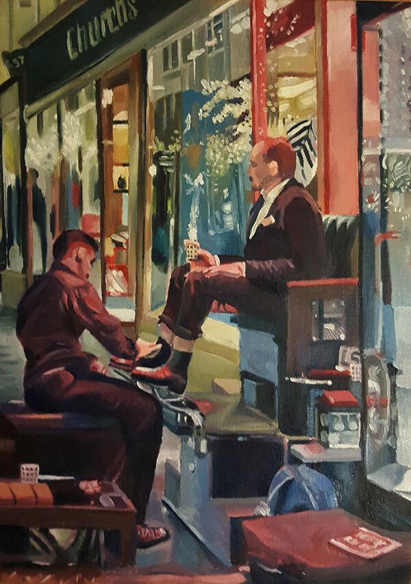 Shoe Shining, Burlington Arcade