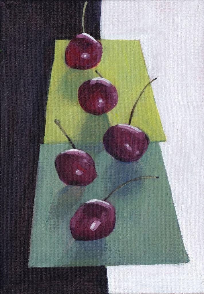 Socially-Distanced Cherries