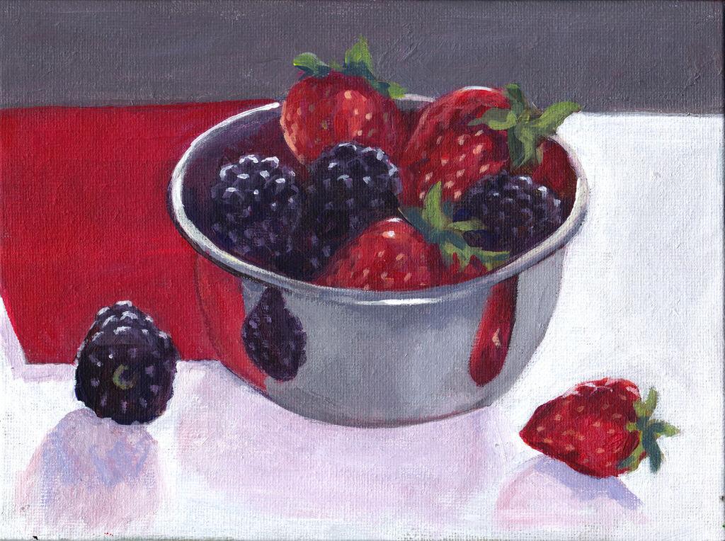 A Very Berry Still Life
