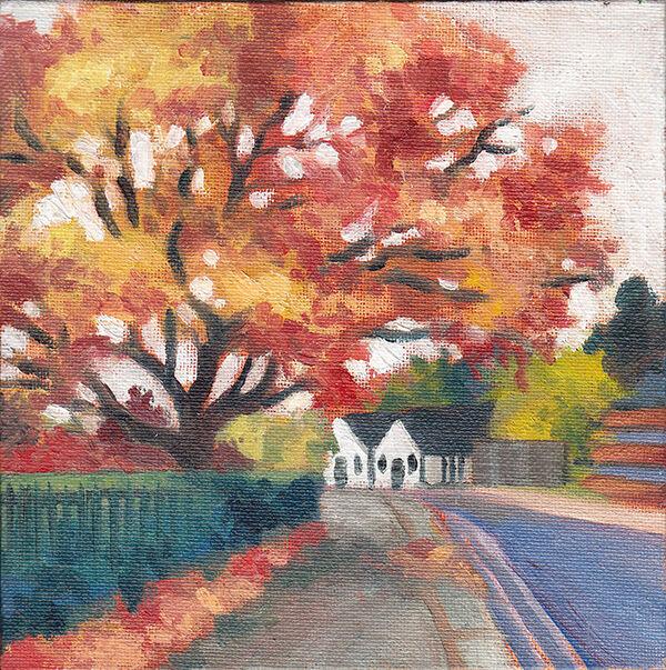 Autumn Tree, Letchworth