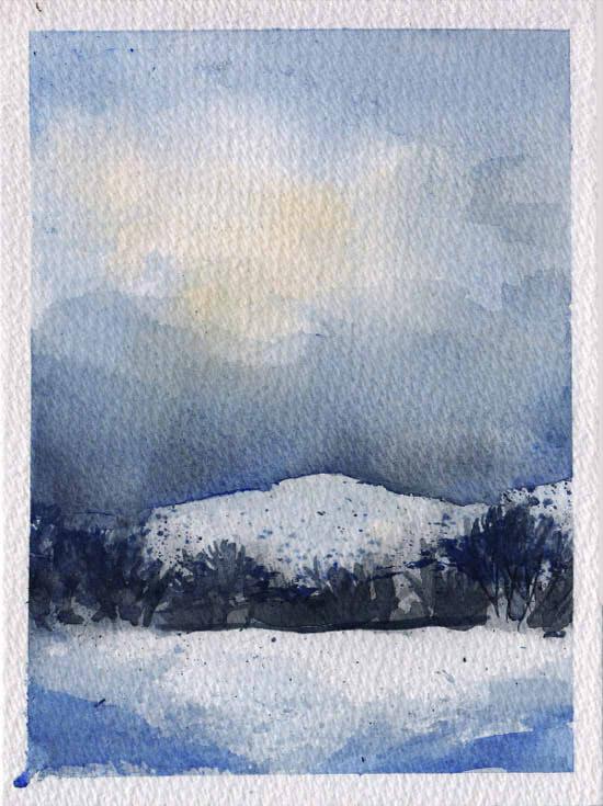 County Mayo Snow