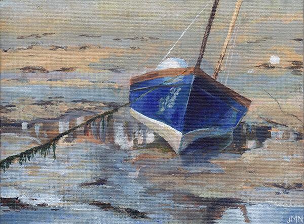 Boat at Low Tide, St Ives