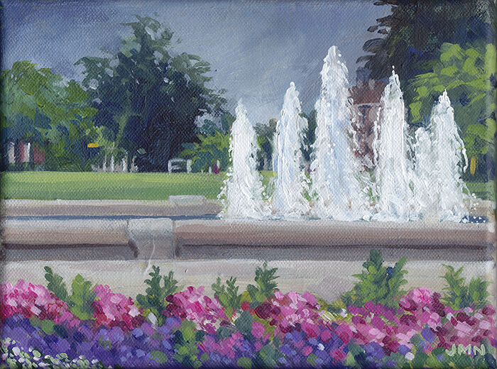 Letchworth Fountains, July