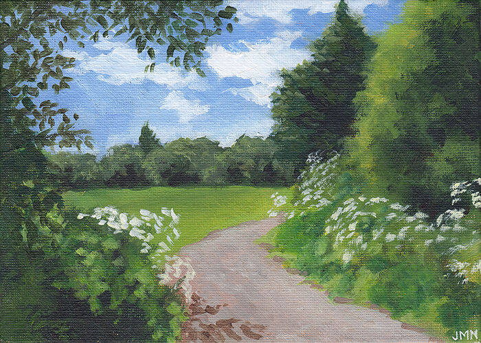 Path with Chervil