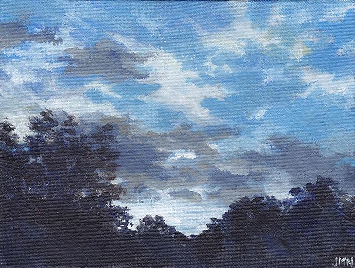 Calm November Sky