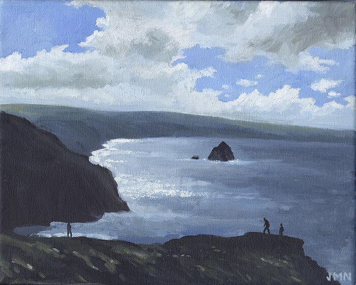 The Cornish Coast from Tintagel
