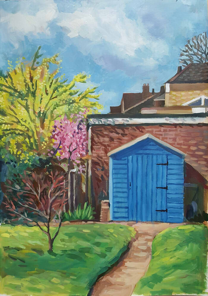 The Shed in Spring