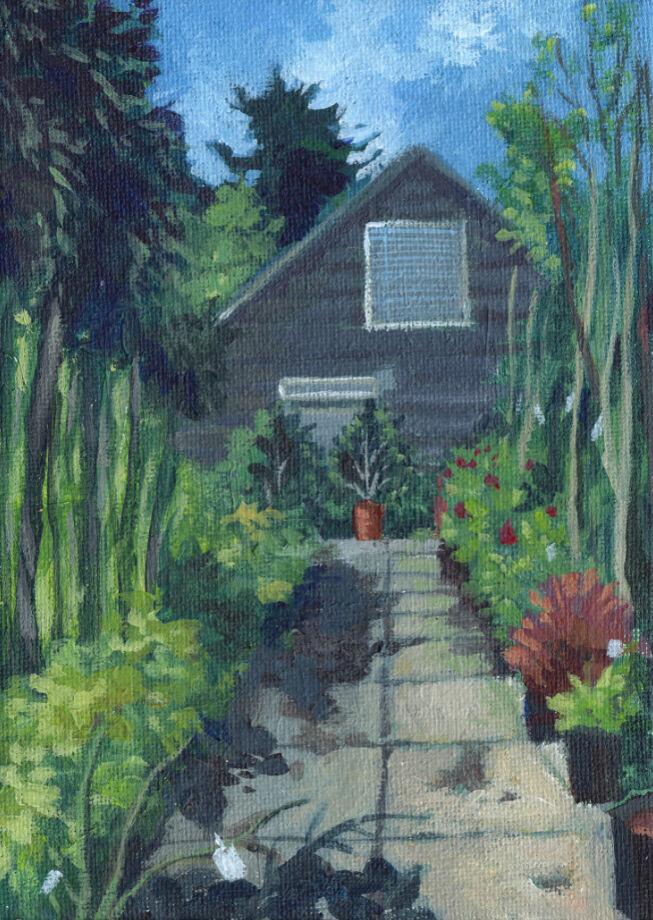 Garden Centre in Summer
