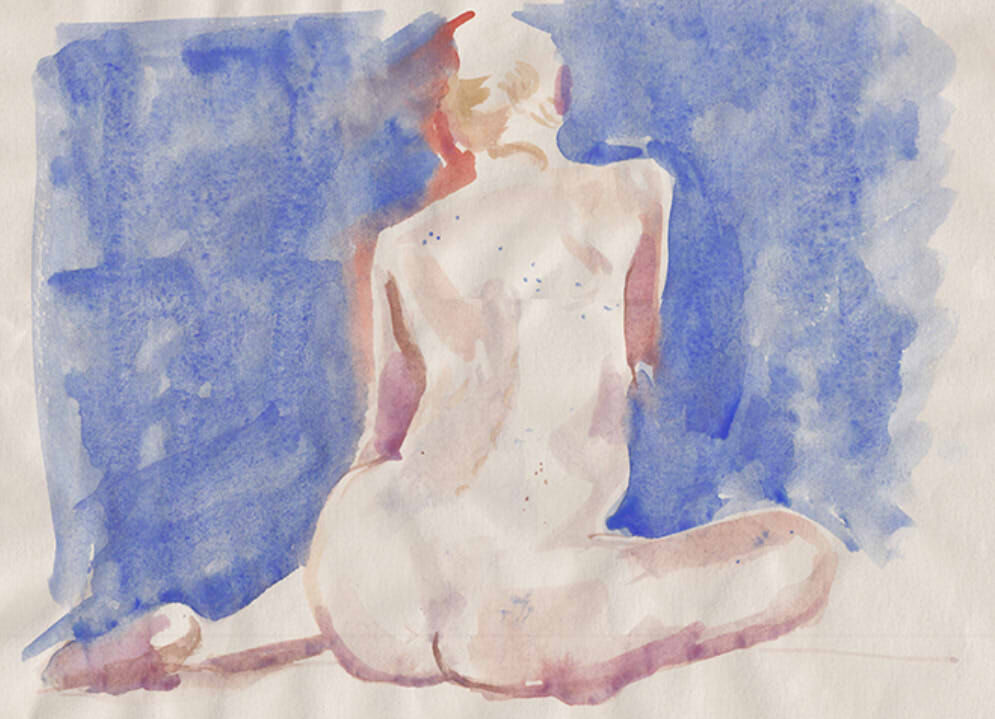 Kate in Watercolour