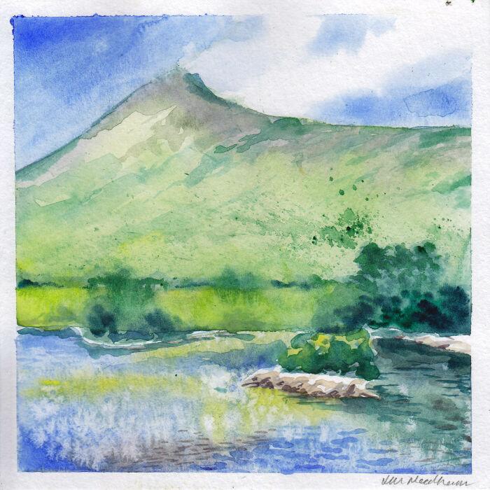 The Killary in Watercolour