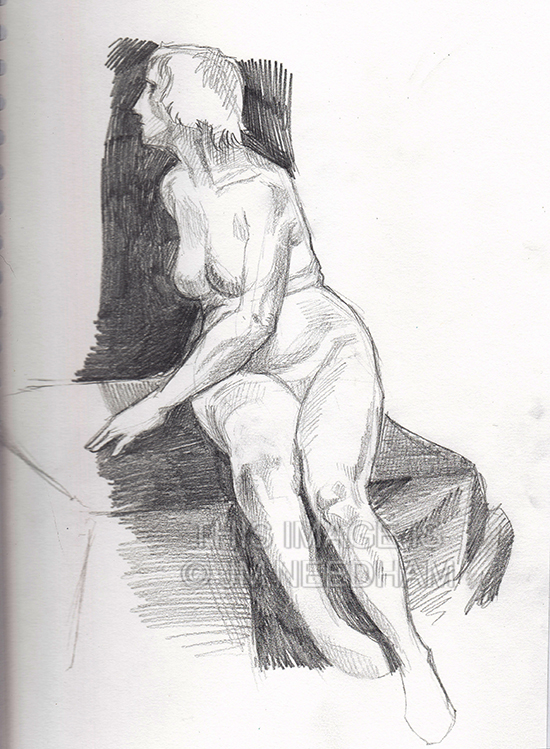 Life Drawing: Fay I