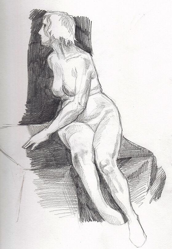 Life Drawing: Fay I
