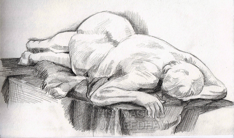 Life Drawing: Fay II