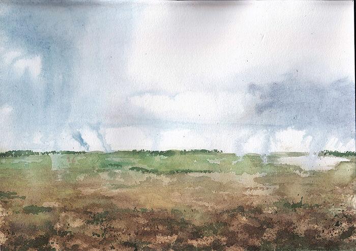 Irish Rain Storm