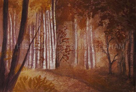 Ochre Birch Wood