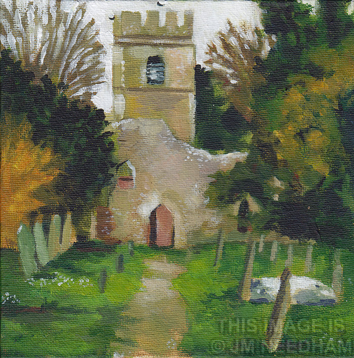 Old St Lawrence Church, Ayot