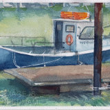 Blue Boat, Ryde Harbour