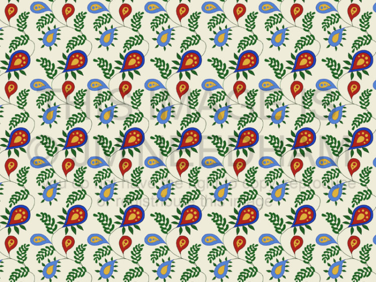 Colourful Leafy Pattern
