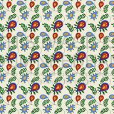 Colourful Leafy Pattern