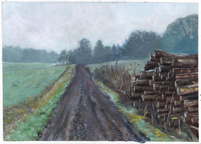 The Log Pile, January