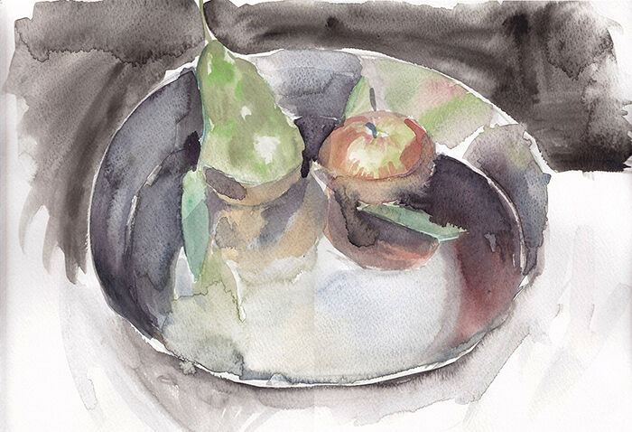 In A Bowl With Water