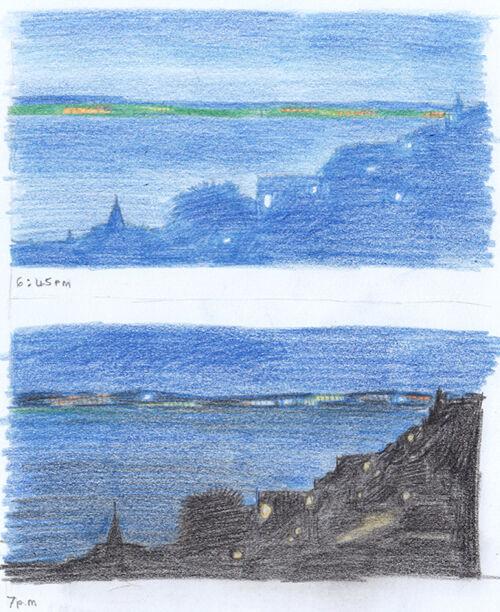 St Ives, Evening Studies