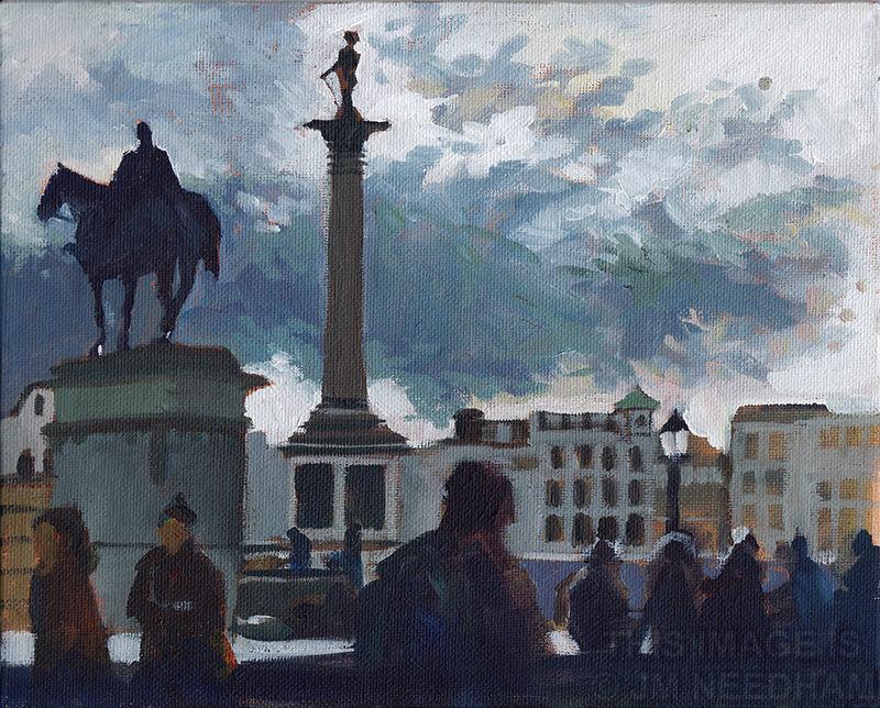 Trafalgar Crowds