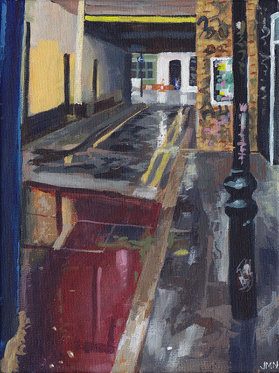 Rainy Alley, London