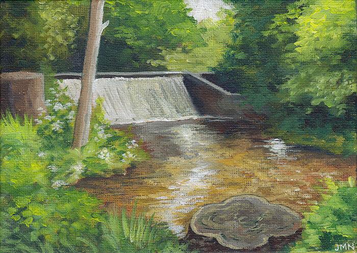 Weir, Cassiobury Park