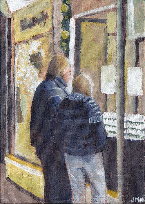 Window Shoppers, Burlington Arcade
