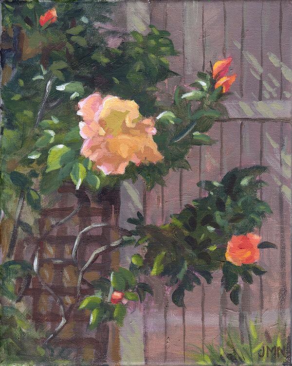 Rose and Trellis