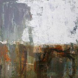 Autumn 100x100cm mixed media on canvas