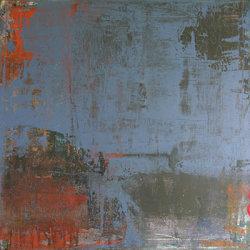 Bridge 50x50cm mixed media on canvas