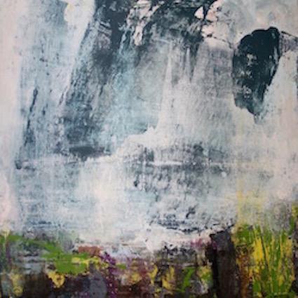 Dark Skies - 50x50cm on canvas SOLD