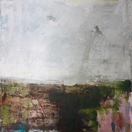 Deep Dale Shadows - 60x60cm on canvas