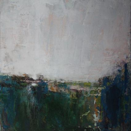 High Peak - 40x40cm on canvas SOLD