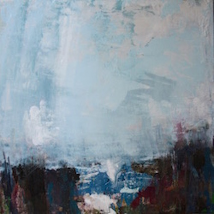 Morning Storm - 60x60cm on canvas SOLD