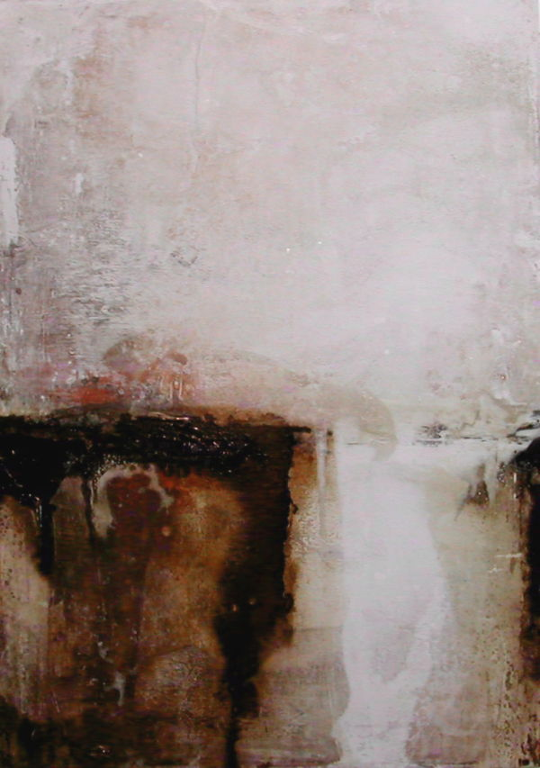 Land No. 6, 50x70cm on canvas Sold