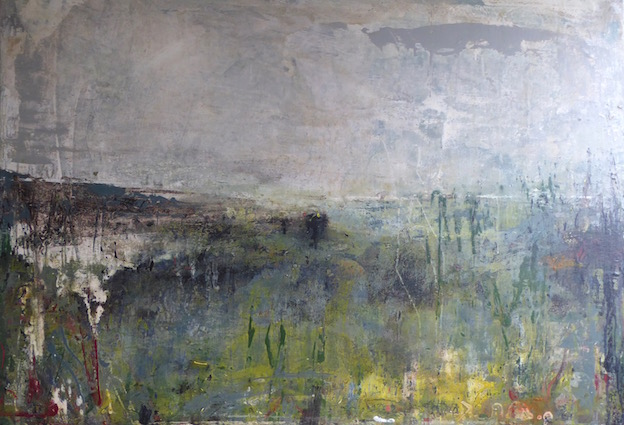 Ascending Storm - 102x81cm mixed media on canvas