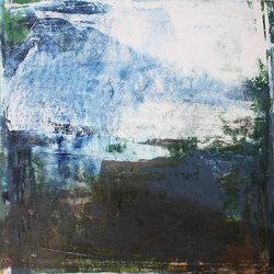 Moonlight 50x50cm mixed media on canvas
