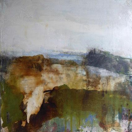 Towards The Sea - 60x60cm on canvas
