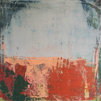 Bounded 50x50cm mixed media on canvas SOLD
