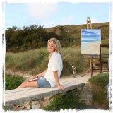 Jannine Neale at Polly Joke beach