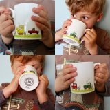 Child's Tractor - Digger - Truck Cup